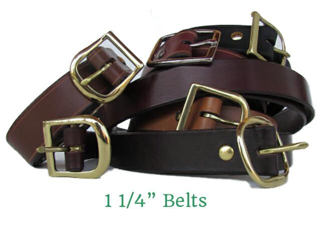 1.25 plain belts