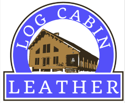 Log Cabin Leather by Jan