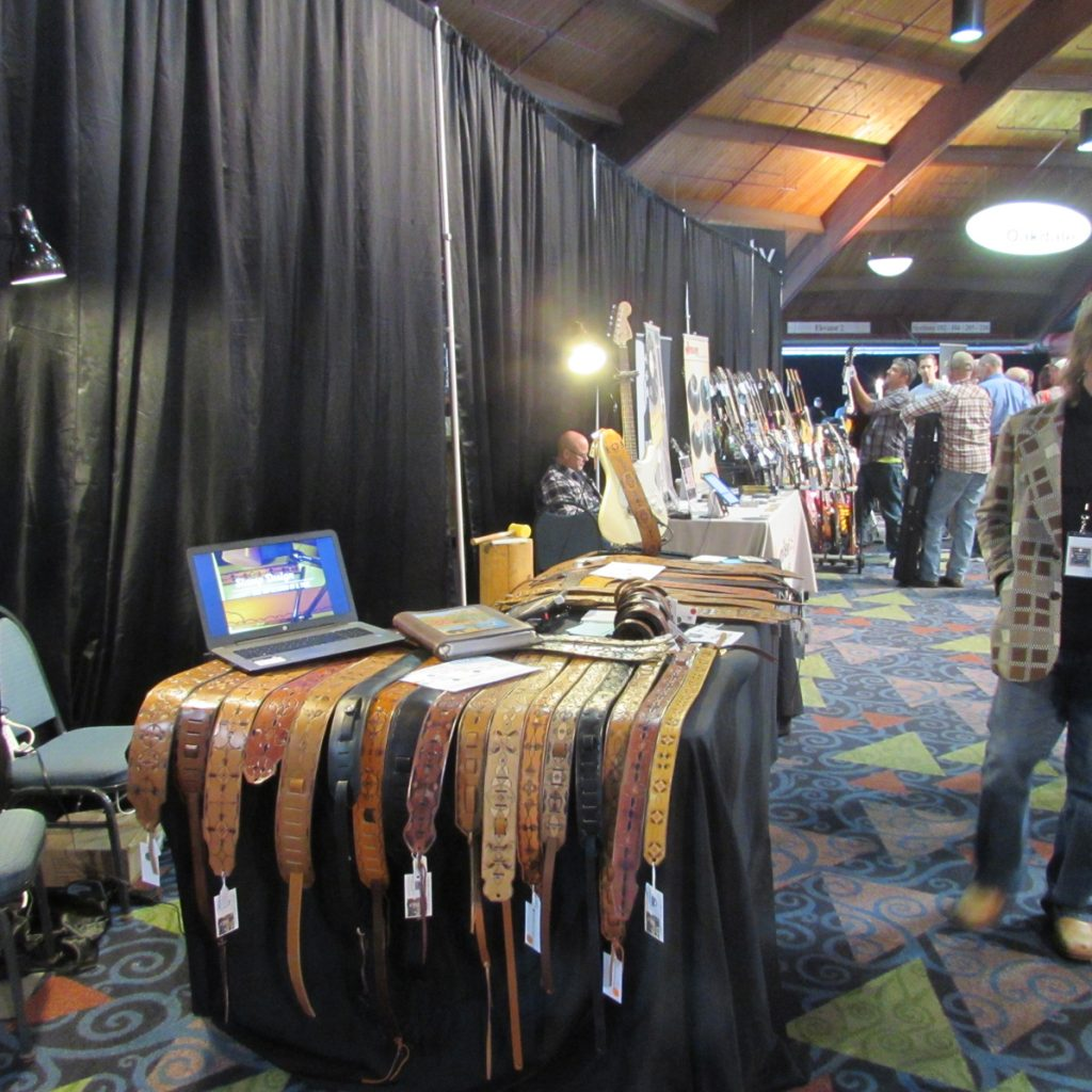 Ready for sale at the Guitar Expo.