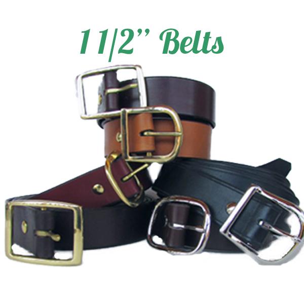 Genuine Leather Belts 1 1/2″ wide