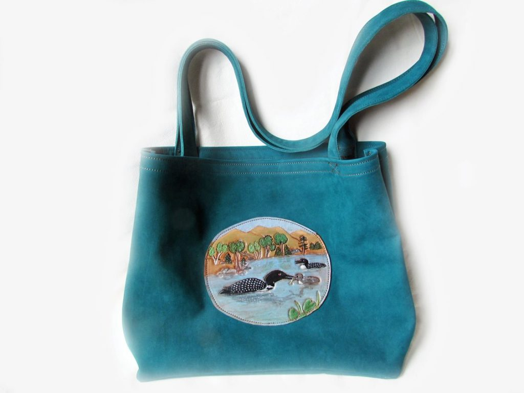 loon-leather-tote-teal