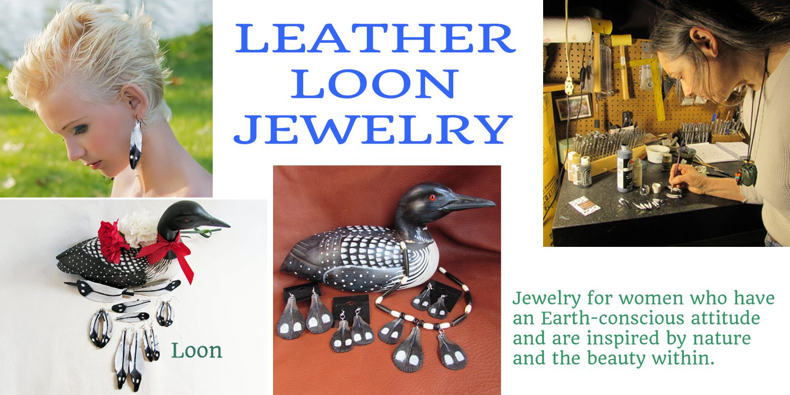 loon jewelry header