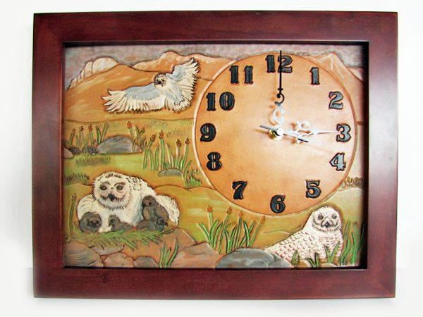 snaoy-owl-clock