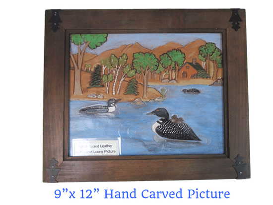 framed-loon-picture