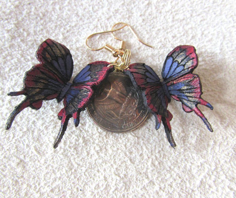 hairstreak-butterfly-earringss