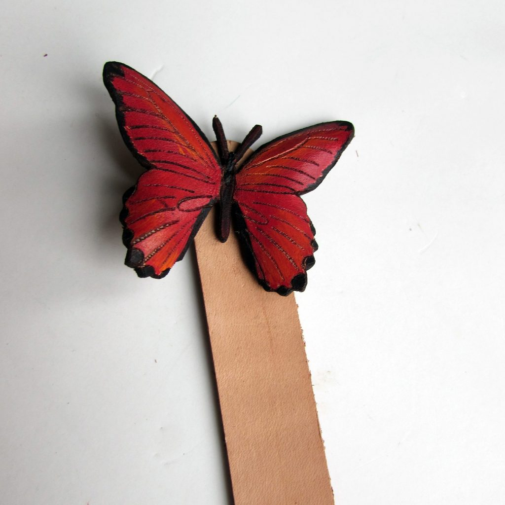 crimson-butterfly-bookmark